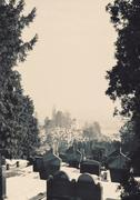 Orthodox Christian Cemetery Stock Photos