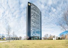 The Arag headquarter Stock Photos