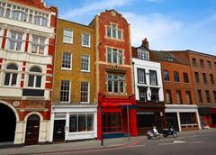 London Southwark old brick buildings Stock Photos