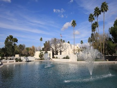 4K UltraHD Timelapse of the Scottsdale, Arizona city hall Stock Footage