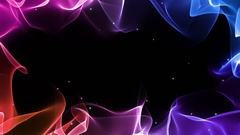 Changing ColorsMagical Colorful Frame Border Background Multicolor  Stock Footage