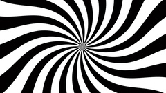 Hypnotic spiral dis 4k fast Stock Footage