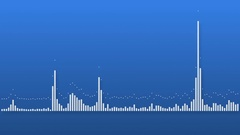 Sound graphic equalizer Stock Footage