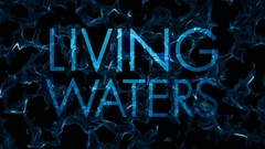 Fractal Living Waters Title Water Abstract Loop Stock Footage