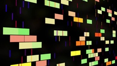 Animated abstract background Stock Footage