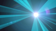 Bursting light core Stock Footage