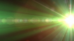 Pulsing light flare by Stock Footage