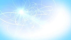 Soft blue lines and energy Stock Footage