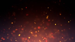 Particle fire updraft Stock Footage