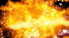 Warping cosmic fire Stock Footage