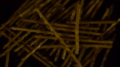 Salted Breadsticks Thrown Up HD Pro Stock Footage