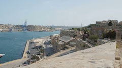 Valletta, Malta Alfa Nero is one of the largest private motor Stock Footage
