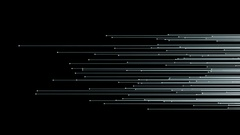 Particle flow transition background Stock Footage