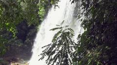 El Nicho Escambray Mountains Sancti Spiritus Cuba Water Flowing Outdoors Stock Footage