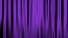 Silk Velvet Curtain Seamless Looping Motion Background Purple Stock Footage