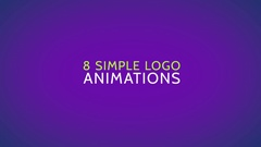 8 Logo Animations Stock After Effects