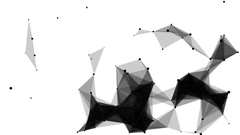 Futuristic plexus background Arkistovideo