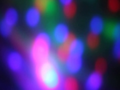 Rays at the dance Stock Footage