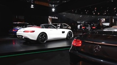 Mercedes-AMG GT Roadster Stock Footage
