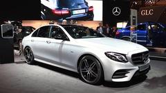 Mercedes-Benz E-Class E 350 e Plug-in Hybrid Stock Footage