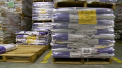Warehouse Assets Stock Footage