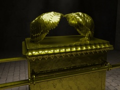 Close up Ark of the Covenant Stock Footage