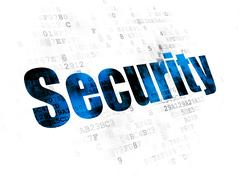Safety concept: Security on Digital background Piirros