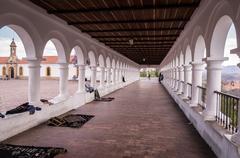 White Spanish colonial architecture at La Recoleta in Sucre, Bolivia Kuvituskuvat