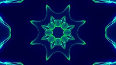 4K Colorful Kaleidoscopic Video Background.  More sets footage in my portfolio. Stock Footage