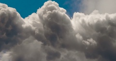 Storm Clouds in the High Mountains 4K Stock Footage