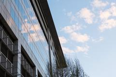 Office buildings with modern architecture Stock Photos