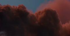 Scarlet Martian Clouds 4K Stock Footage