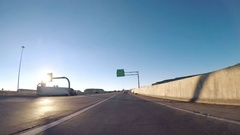Driving through on I25 to Colorado Springs in the morning. Stock Footage