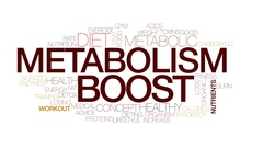 Metabolism boost animated word cloud, text animation. Kinetic typography. Stock Footage