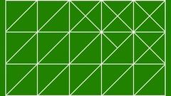 Geometric Animation Vj Loop Green Box Background Stock Footage
