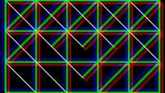 Geometric 3D Lines On Black Background HD Vj Loop Stock Footage