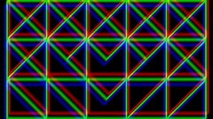 Geometric Lines Animation Vj Loop Stock Footage