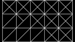 Geometric Scheme Mapping HD Vj Loop Stock Footage
