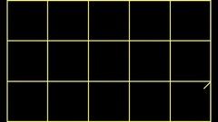 Geometric Yellow Scheme Mapping HD Vj Loop Stock Footage