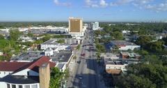 Miami MiMo Midtown Florida Aerial video 4k Stock Footage
