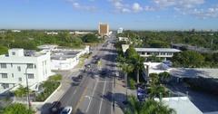 Mimo District Miami Florida Aerial video Stock Footage