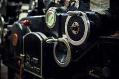 Old Offset Machine Stock Photos