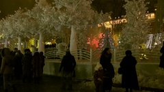 """Festival """"Journey to Christmas Stock Footage"""