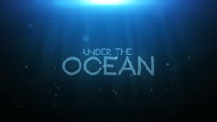 Underwater Logo Reveal Stock After Effects