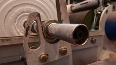 Rotating industrial mechanical parts Stock Footage