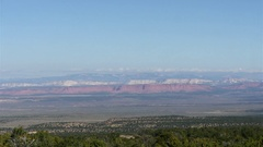 Timelapse on a viewpoint at a national forrest, near grand canyon north rim.. Stock Footage