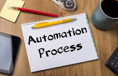 Automation Process - Note Pad With Text Kuvituskuvat