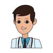 Medical doctor icon image Stock Illustration