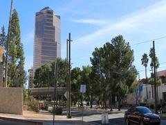 4K UltraHD View of the Tucson, Arizona city center Stock Footage