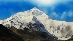 Everest Mountain Stock Footage